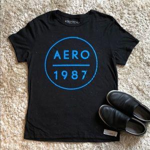 Multicolor threaded Aeropostale T-shirt